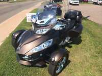 2012 Can-Am Spyder RT Limited - ONLY 15,421KMS!!