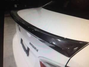 Carbon fibre deck spoiler BMW E90 sedan. 2006 on. M3 style South Melbourne Port Phillip Preview