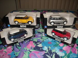 ~ 2002 MINI COOPER PULL BACK WINDUP CAR COLLECTION ~$24.99 EACH~