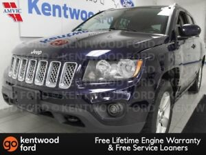 2015 Jeep Compass SPORT Trail rated 4x4 with heated seats and a