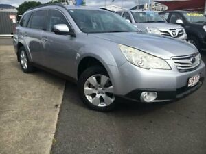 2012 Subaru Outback B5A MY12 2.5i Lineartronic AWD Silver 6 Speed Constant Variable Wagon Bungalow Cairns City Preview