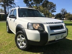 2004 Land Rover Freelander 04MY SE White 5 Speed Sports Automatic Wagon Somerton Park Holdfast Bay Preview