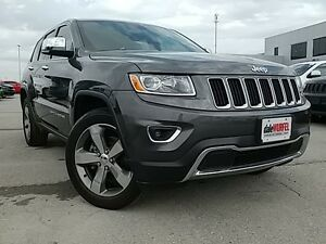 2015 Jeep Grand Cherokee Limited | V6 | LEATHER | NAV |