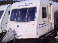 Bailey Ranger 460/4 GT 60 FIXED BED Inc an Awning 4 Berth Touring Caravan.