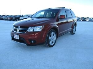 2012 DCopper Dodge Journey AWD with DVD and low kilometers!! Le