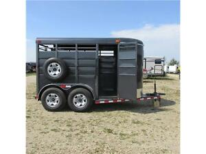 New 2015 Calico 12' Stock Bumper Pull Trailer w. upgrades Edmonton Edmonton Area image 6