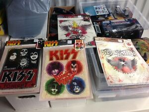 Vintage style KISS Iron ons for T-Shirts