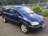 Vauxhall Zafira ENERGY 1.6 7 SEATER (blue) 2004