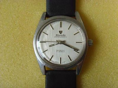 Vintage Swiss Nivada 17J Mechanical Manual Used Watch