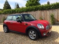 MINI COOPER D 2010 (10) HATCH CHILLI RED DIESEL GRT CONDITION LADY OWNER - CONSIDER SWAP LARGER