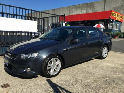 2010 Ford Falcon FG XR6 FG LOW KLMS Grey 6 Speed Auto Seq Sportshift Sedan