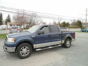 NEED GONE!06 Ford F-150 SuperCrew 4.6 4X4 Pickup Truck WITH DVD