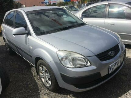 2008 Kia Rio JB EX White 5 Speed Manual Hatchback Hoppers Crossing Wyndham Area Preview