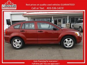 2007 Dodge Caliber SXT LOW KMS NO ACCIDENTS Sunroof