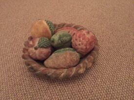 Bowl of Fruit Ornament
