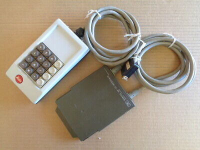 Ernst Leitz Wetzler 301-305.554 Microscope Keypad Controller Hp 82940a Gp-io