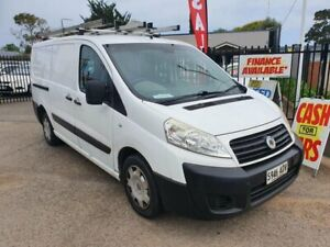 2009 Fiat Scudo Comfort Low Roof LWB White 6 Speed Manual Van Morphett Vale Morphett Vale Area Preview