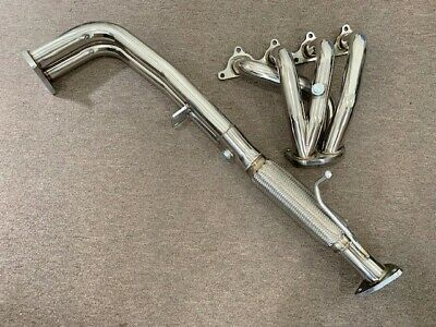 Racing Stainless Steel Header Downpipe Fits Honda Accord 90-93 2.2L F22 4Cyl