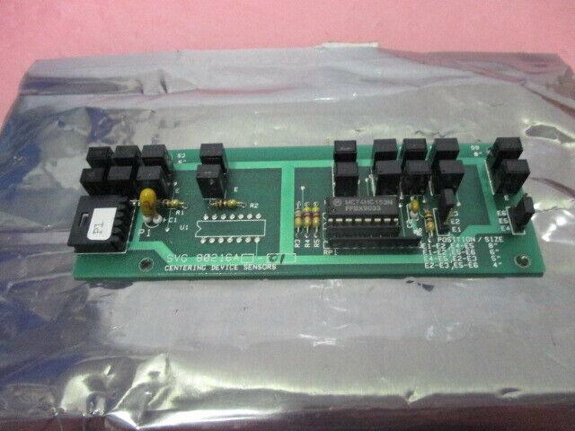 SVG 80216A-01 Centering Device Sensors Board, PCB, 451294