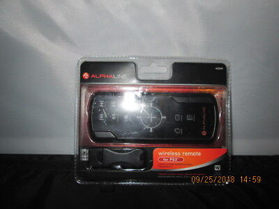 PS3 Playstation 3 Wireless Remote by ALPHALINE Backlit Blu-Ray Remote
