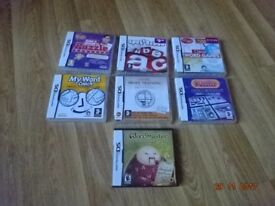 Nintendo DS Games - 7 Games