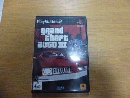 PS2 Game GTA for sale Grand Theft Auto III Leichhardt Leichhardt Area Preview