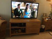 Solid Oak TV cabinette