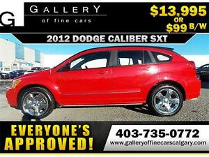 2012 Dodge Caliber SXT $99 bi-weekly APPLY NOW DRIVE NOW