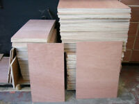 PALLET OF PLYWOOD OFF CUTS, OVER 35 FULL SHEETS WORTH INC DELIVERY
