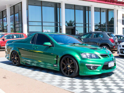 2010 Holden Special Vehicles Maloo E Series 2 R8 Green 6 Speed Manual Utility Alfred Cove Melville Area Preview