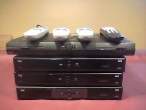 3 Bell Satellite Receivers 6131 with remotes