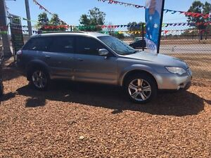 2007 Subaru Outback AWD Silver 4 Speed Automatic Wagon Hidden Valley Darwin City Preview