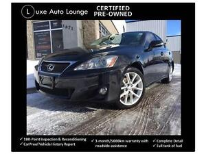 2011 Lexus IS 250 AWD-LEATHER-SUNROOF-PADDLE SHIFTERS-LOADED!!!