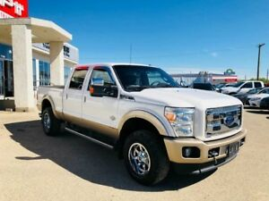 2012 Ford Super Duty F-350 SRW KING RANCH 4X4- LOCAL TRADE