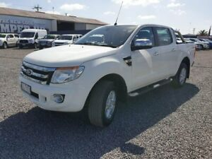 2015 Ford Ranger PX XLT Double Cab White 6 Speed Sports Automatic Utility Horsham Horsham Area Preview