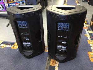 Speaker* Turbosund Milan M12* 2xStand Inclu* DEMO