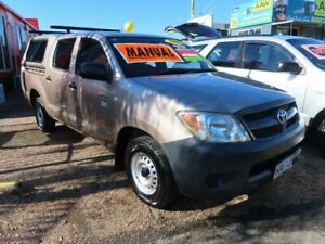 2006 Toyota Hilux TGN16R MY05 Workmate 4x2 Gold 5 Speed Manual Utility
