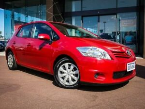 2012 Toyota Corolla ZRE152R MY11 Ascent Red 4 Speed Automatic Hatchback Maddington Gosnells Area Preview