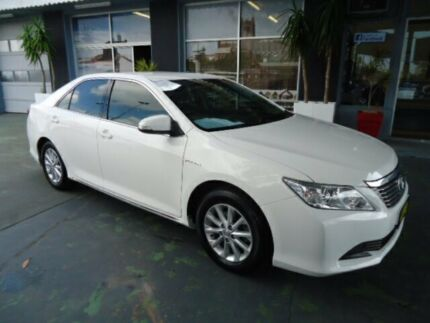 2012 Toyota Aurion GSV40R 09 Upgrade AT-X White 6 Speed Sequential Auto Sedan Hamilton Newcastle Area Preview