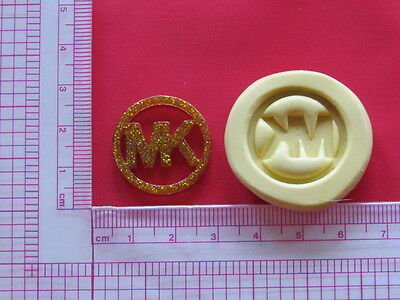 Silicone Mold Cake Decorating Logo Fimo Clay Resin Candy Fondant Chocolate A787