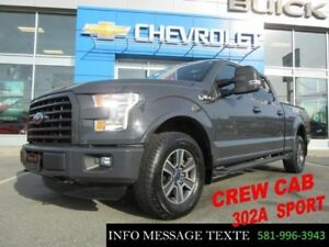 2016 Ford F-150 302A SPORT, GPS, TOIT OUVRANT