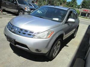 2005 Nissan Murano AWD Accident Free/ Sunroof/ CERTIFIED!!