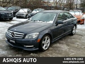 2011 Mercedes-Benz C-Class C300 4MATIC Leather Sunroof No accide