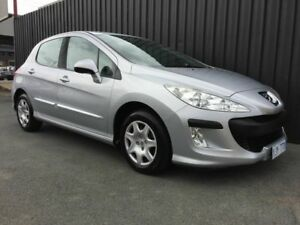 2008 Peugeot 308 XS Grey 4 Speed Automatic Hatchback