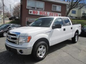 2014 Ford F-150 XLT Crew Cab, 5.0L V8, From $205 Bi weekly, OAC
