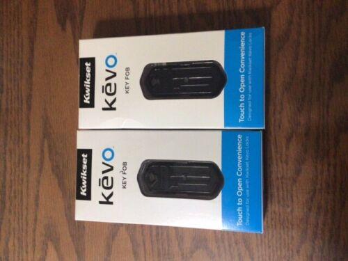 Kwikset Kevo key fobs - set of two
