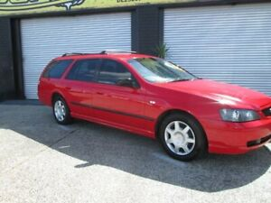 2002 Ford Falcon BA XT Red 5 Speed Auto Active Select Wagon O'Connor Fremantle Area Preview