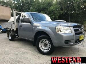 2007 Ford Ranger PJ XL Grey Manual Cab Chassis Lisarow Gosford Area Preview