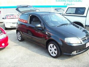 2006 Holden Barina TK MY07 Black 5 Speed Manual Hatchback Capalaba West Brisbane South East Preview
