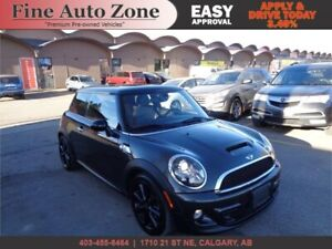 2012 MINI COOPER S  HEATED LEATHER SEATS SUNROOF BLUETOOTH
